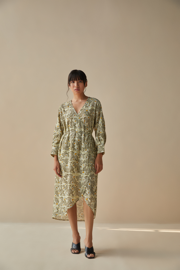 The Daisy Dream handwoven organic cotton dress