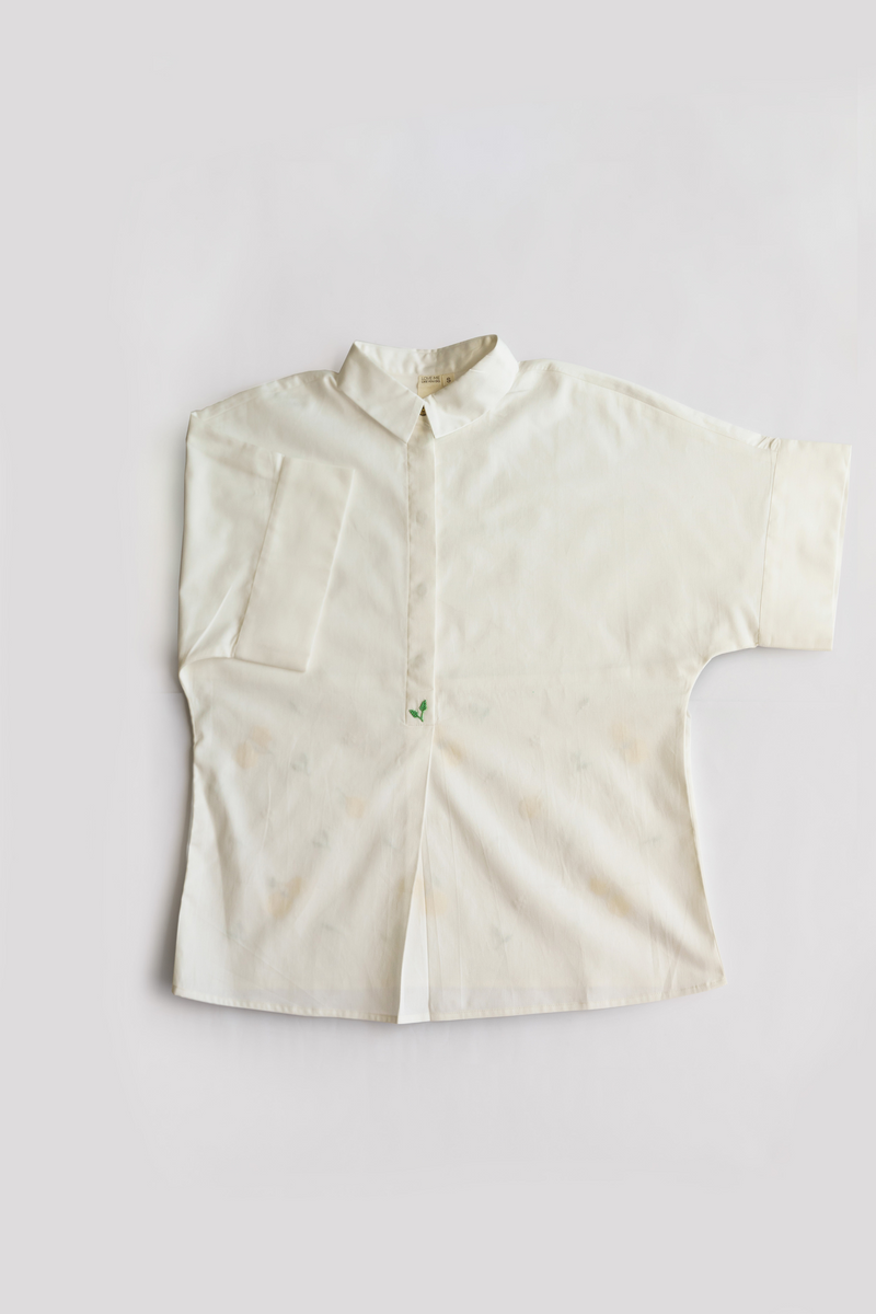 Sui | WILD HEART (GRANITA EDITION) hand and machine embroidered organic cotton classic oversized shirt from Granita Summer Collection 2019