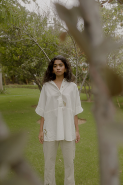 Sui | WILD HEART hand-embroidered organic cotton shirt (classic Flow edition) from Flow Winter Collection 2019