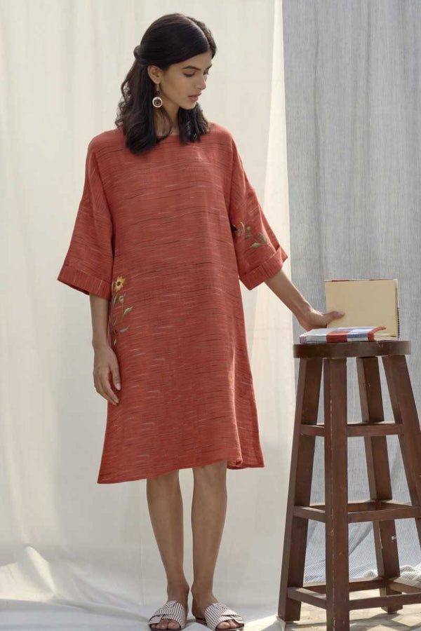 The woven story dress