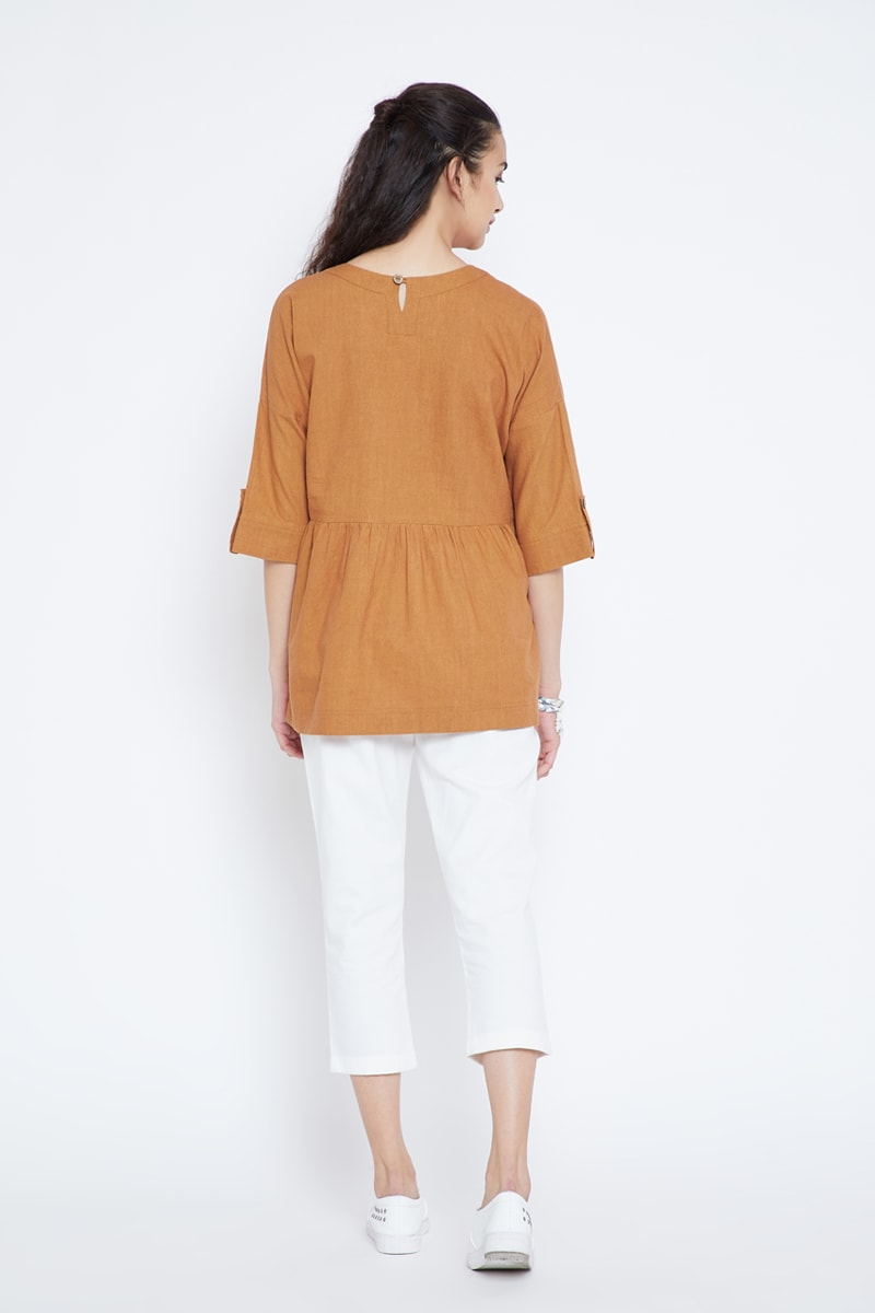 Carmel by the Sea hemp top