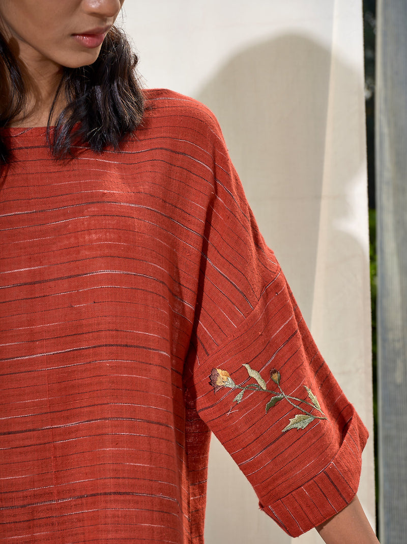 The Woven Story organic cotton khadi dress