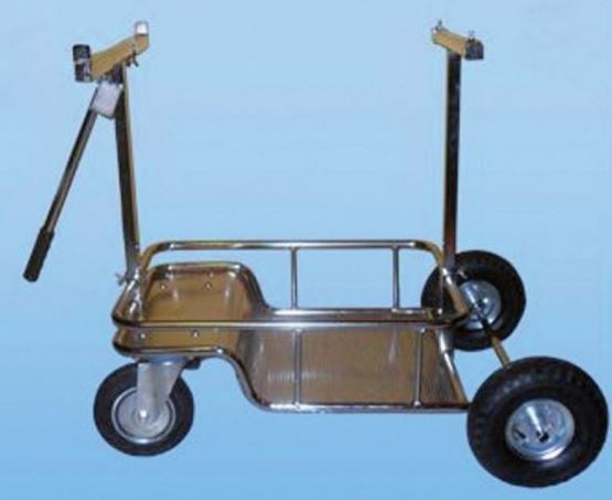 "IM  Kart Stand with Pneumatic Wheels <font color=""red"">*FREE SHIPPING*</font>"