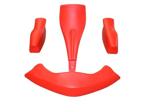 Kid Kart Bodywork Set - Red