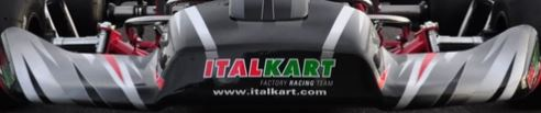Italkart 505 Nose Cone Sticker Kit