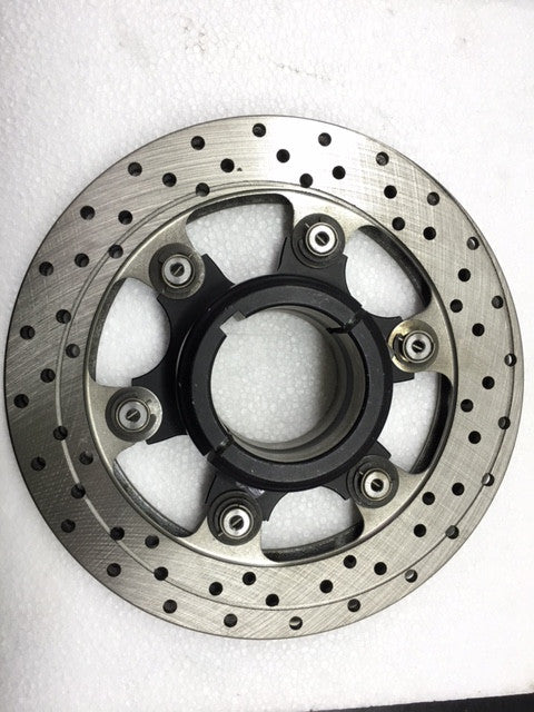 Complete 50mm Floating 6-Point Rotor Assembly (190mm x 13mm thick rotor) - Italian Motors USA LLC