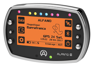 Alfano 6 (2 temps) Data Logger Gauge - Italian Motors USA LLC