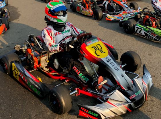 Italkart FP7 Sticker Kit