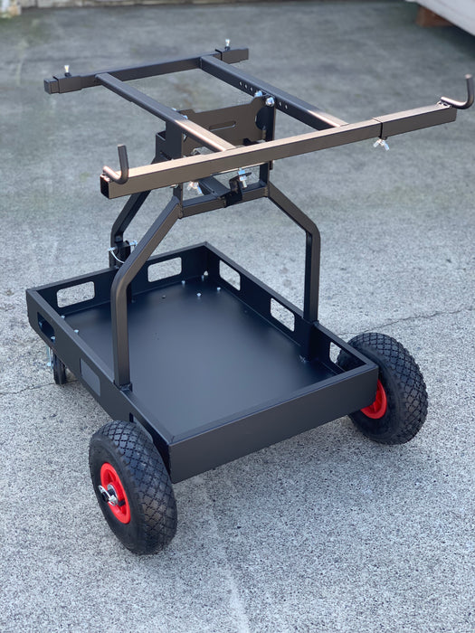 "IM One Man Kart Stand - Black <font color=""red"">*FREE SHIPPING*</font> - Italian Motors USA LLC"