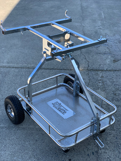 "IM Stiletto One Man Kart Stand - Chrome <font color=""red"">$50 Flat Rate Shipping</font> - Italian Motors USA LLC"