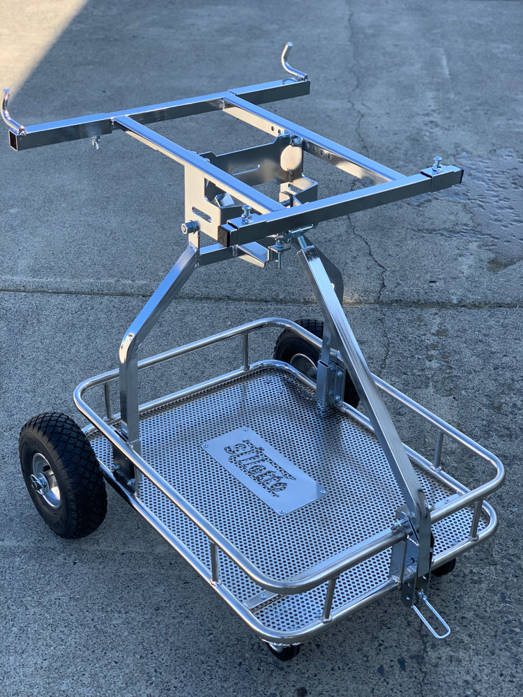 "IM Stiletto One Man Kart Stand - Chrome <font color=""red"">*FREE SHIPPING*</font> - Italian Motors USA LLC"