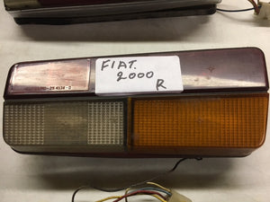 Fiat 2000 Right Hand Brake Lamp - USED - Italian Motors USA LLC