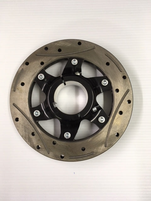 Complete 50mm 6-Point Rotor Assembly (193 x 16mm thick rotor)