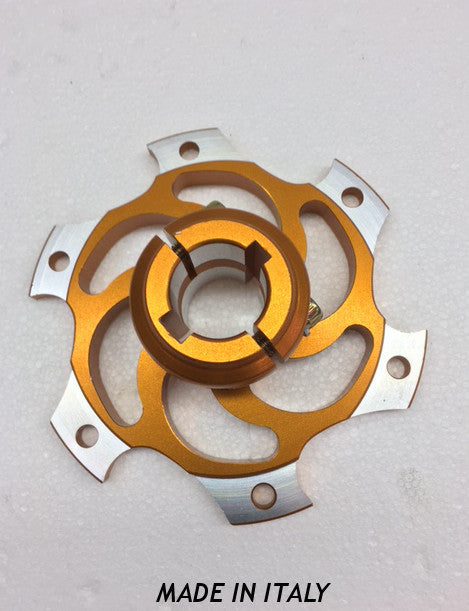 25mm HQ Brake Rotor Carrier - Gold