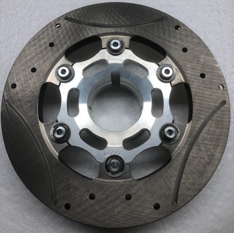 Complete 50mm Floating 6-Point Rotor Assembly (200 x 16mm thick rotor) - Italian Motors USA LLC