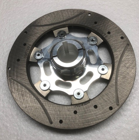 Complete 30mm Floating 6-Point Rotor Assembly (200 x 16mm thick rotor) - Italian Motors USA LLC