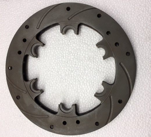 Rear Rotor (Floating) 187x14mm - Italian Motors USA LLC