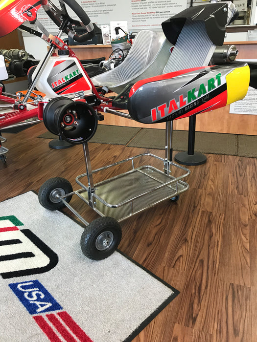 HQ Kart Stand - Chrome - Italian Motors USA LLC