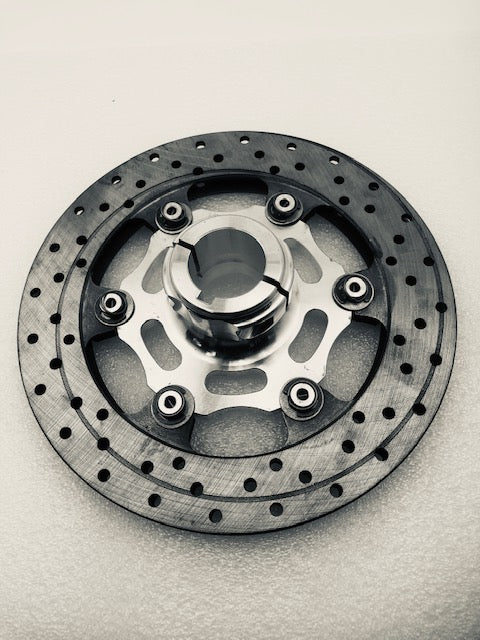 Complete 30mm Floating 6-Point Rotor Assembly (188x12.5) - Italian Motors USA LLC