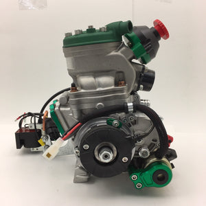 X125T Engine Package with Power Valve - ENGINE ONLY - Italian Motors USA LLC