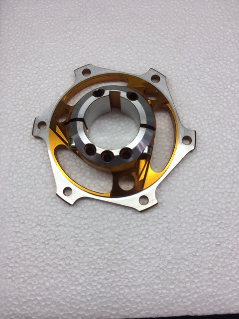 40mm Brake Rotor Carrier - M1 Line Black or Gold