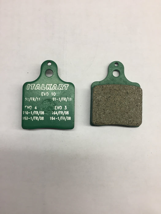 Front/Rear Brake Pad - Soft or Med. - Italian Motors USA LLC