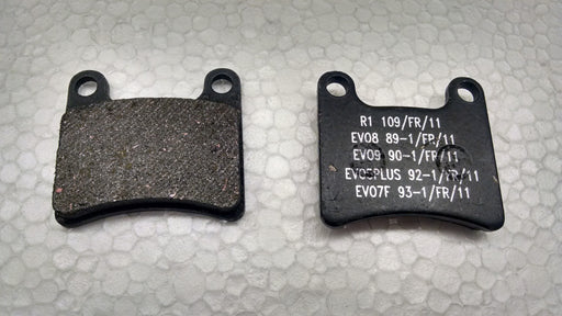 KF Front Brake Pad - 2014 Italkart, Intrepid, Praga - Italian Motors USA LLC