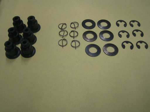 Brake Rotor Mounting Hardware - 6 Point