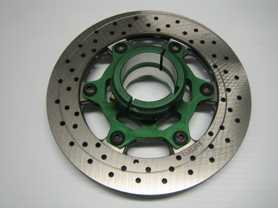 Complete 50mm Rotor Assembly (200mm x 14mm thick rotor)