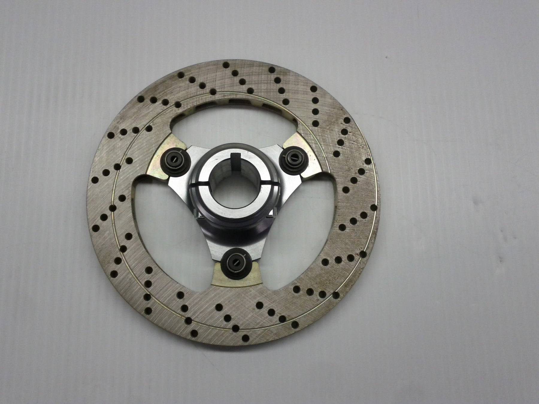 Complete 30mm Floating 3-Point Rotor Assembly (188x12.5)