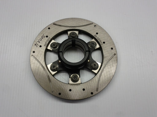 Complete 50mm Floating 6-Point Rotor Assembly (197 x 16mm thick rotor)
