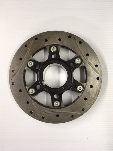 Complete 50mm 6-Point Rotor Assembly (195 x 16mm thick rotor)