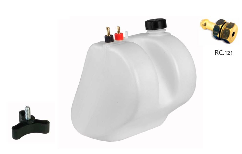 9.5L Extractable Fuel Tank - with accessories - Italian Motors USA LLC