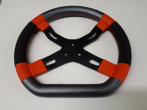 Italkart Steering Wheel - Laguna Black Edition Version