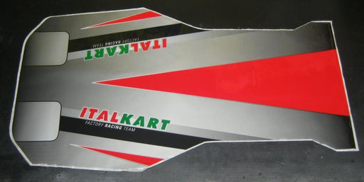 Italkart New Age Floor Pan Sticker - Italian Motors USA LLC