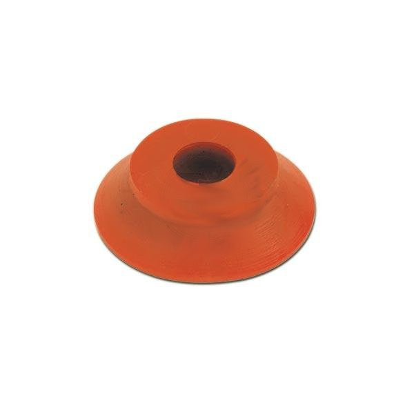 Thin Rubber Tapered Spacer - Red - Italian Motors USA LLC
