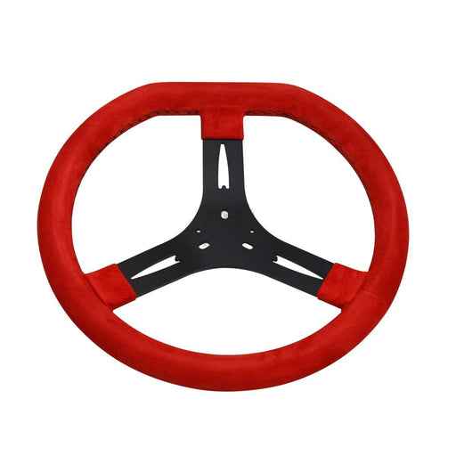 Steering Wheel - Red 340mm - Italian Motors USA LLC