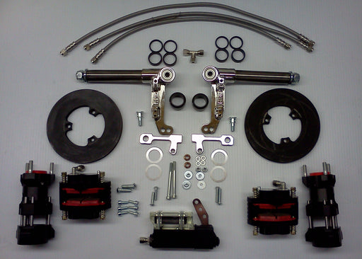Complete Front Brake System - Speed Series - Italian Motors USA LLC
