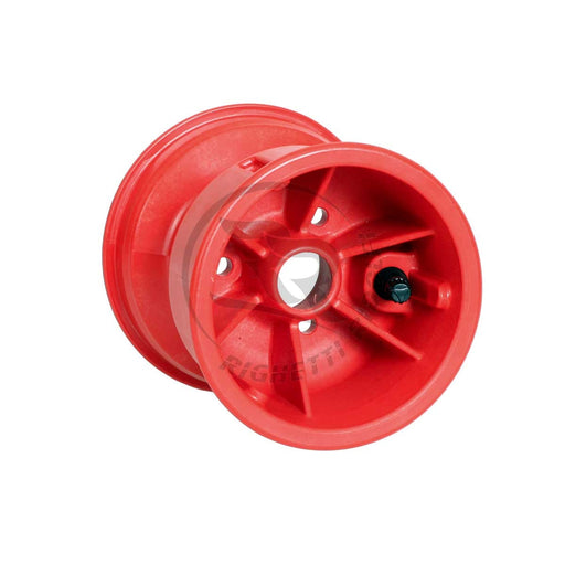 Red Plastic Wheel - 130mm