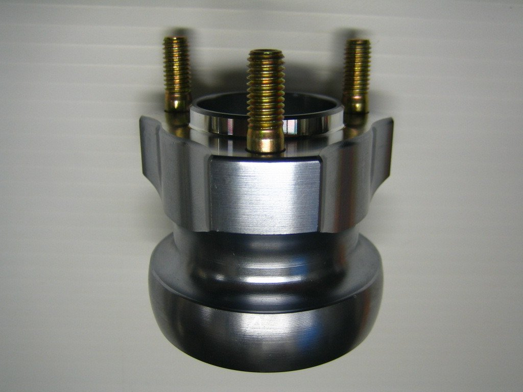 40 x 65mm Rear Hub - Titanium