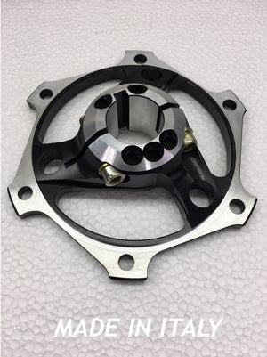 25mm Brake Rotor Carrier - M1 Line Black or Gold - Italian Motors USA LLC