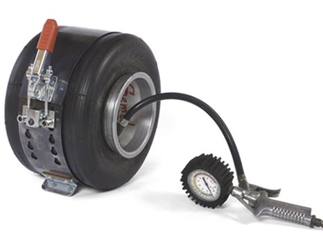 Inflating Tire Belt Tool