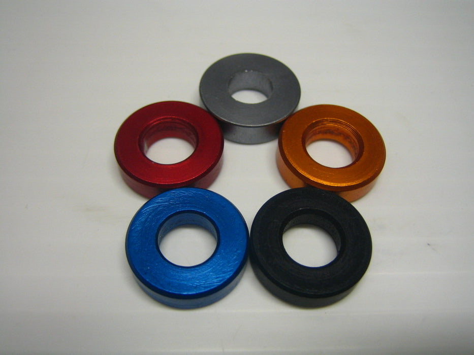 5x18mm Anodized Spacer - Italian Motors USA LLC