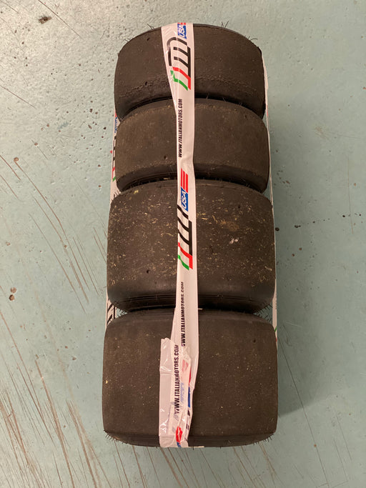Used Set of Le Cont White Tires - Italian Motors USA LLC