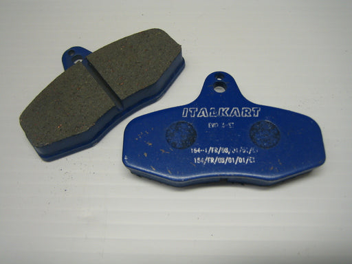 Rear Brake Pad - Hard EVO 3 - Italian Motors USA LLC