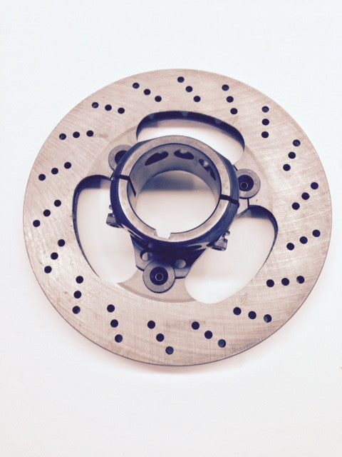 Complete 50mm Floating 3-Point Rotor Assembly