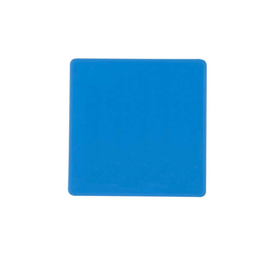 Plastic Number Plate - Blue