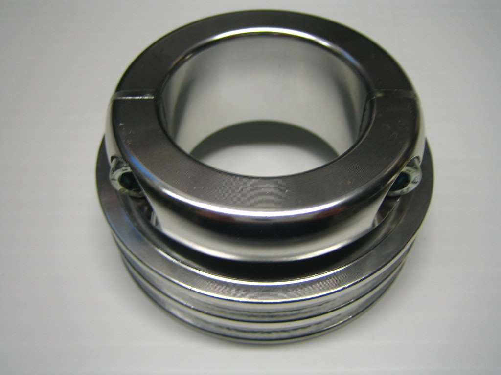 40mm Water Pump Pulley - Silver