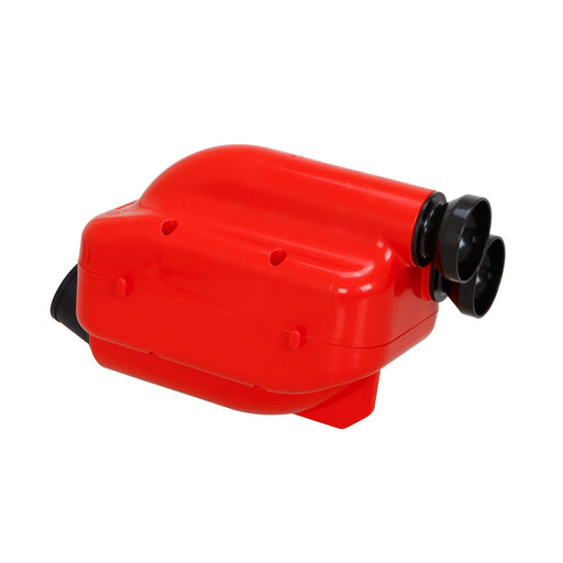 Righetti Nox 2 Airbox 30mm - Red - Italian Motors USA LLC