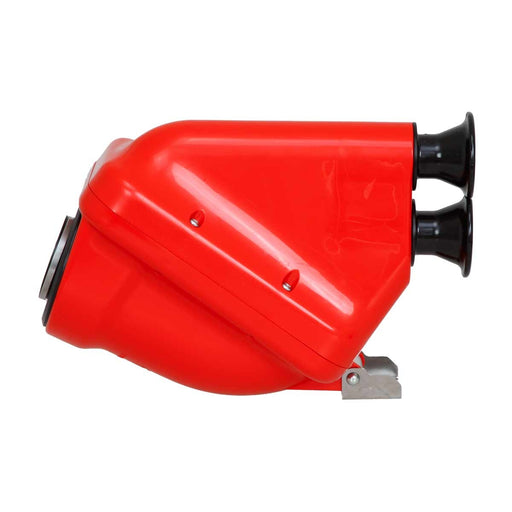 Active Airbox - 30mm - Red/Black - Italian Motors USA LLC